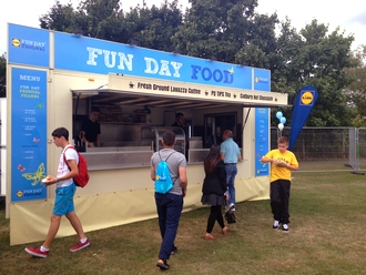 Fun Day Promotional Catering Unit