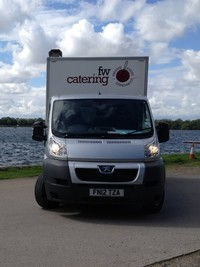fish and chips catering van
